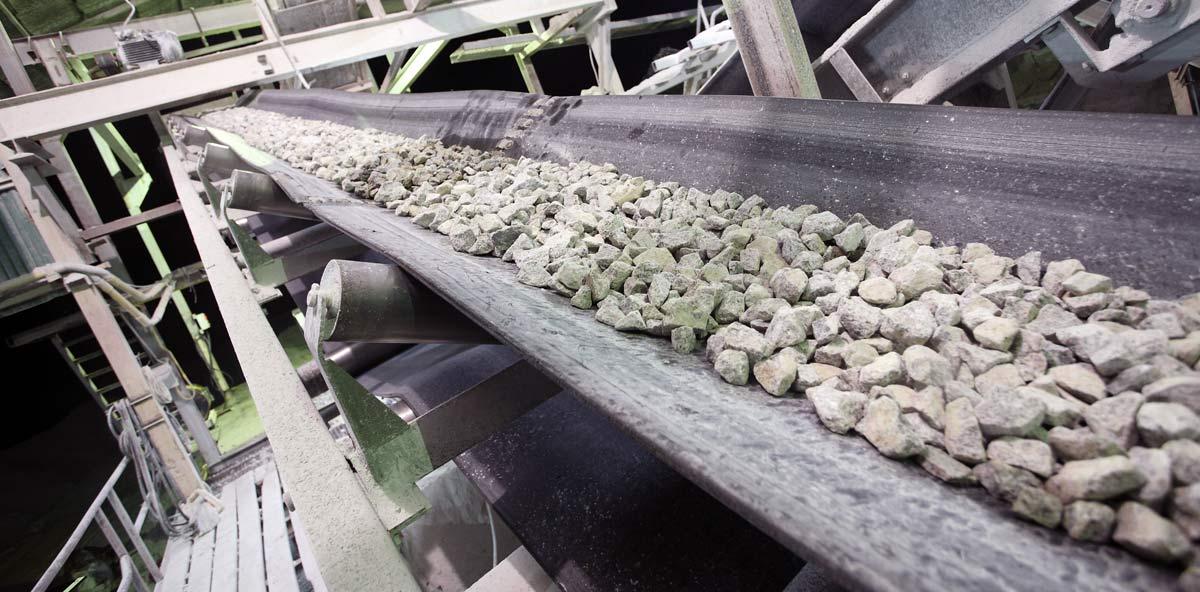 Aggregate Conveyor Maintenance