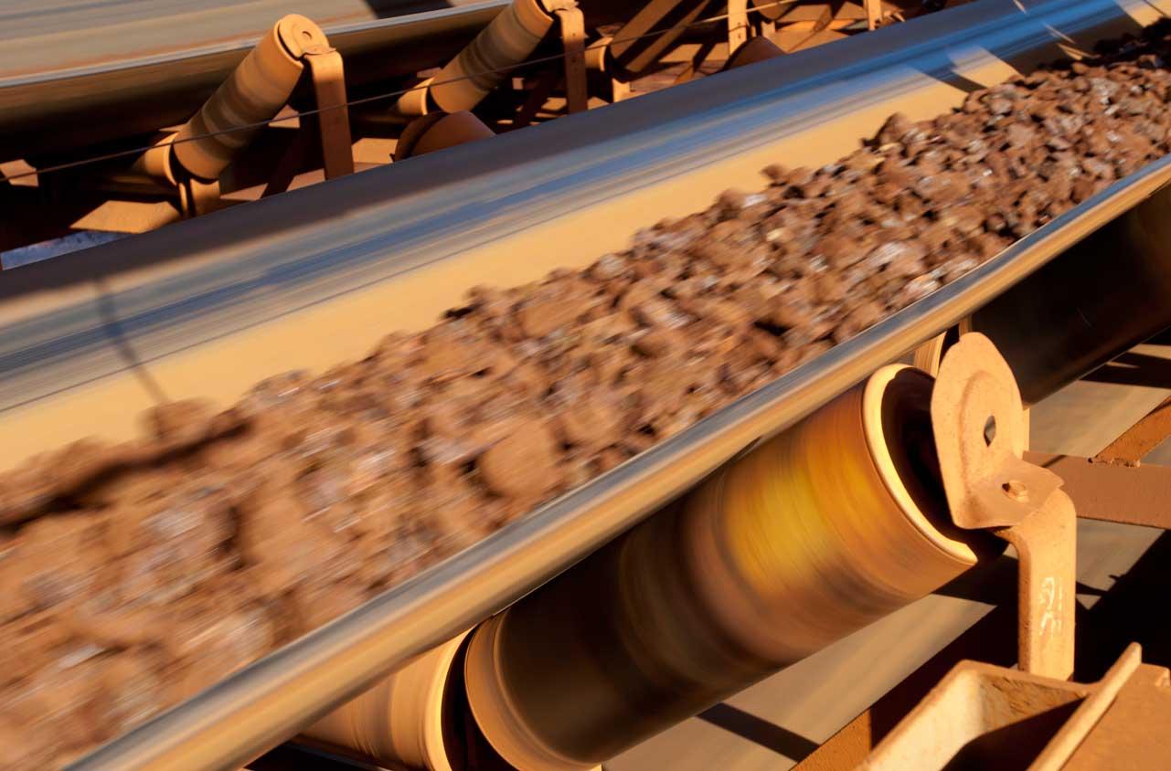 Conveyor Belt Iron Ore