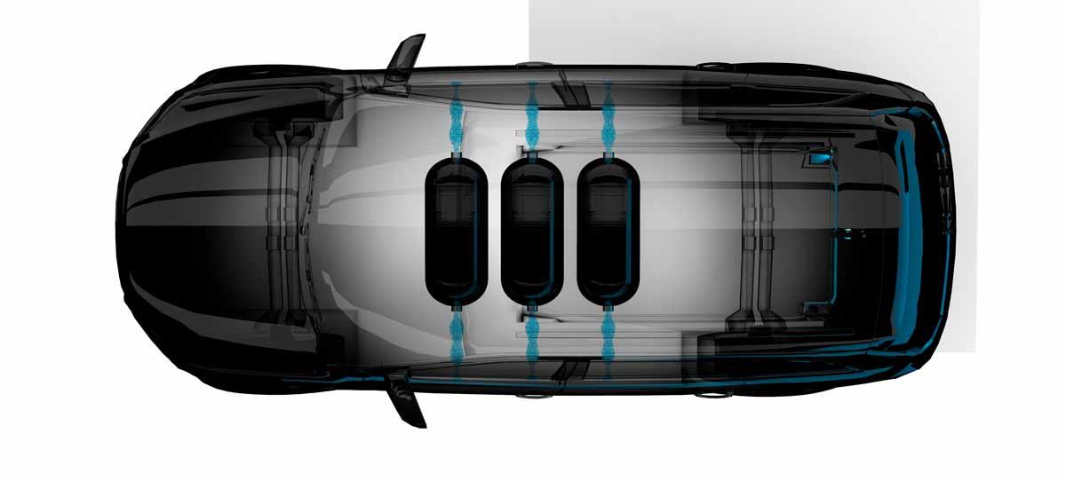 Hydrogen Storage Vessel