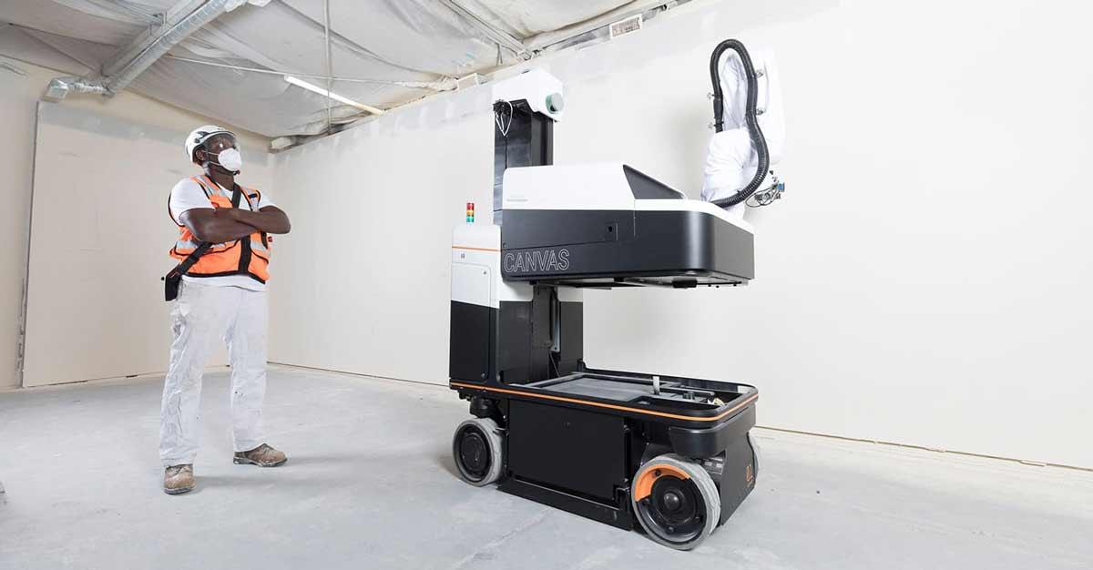 drywall-finishing-robot