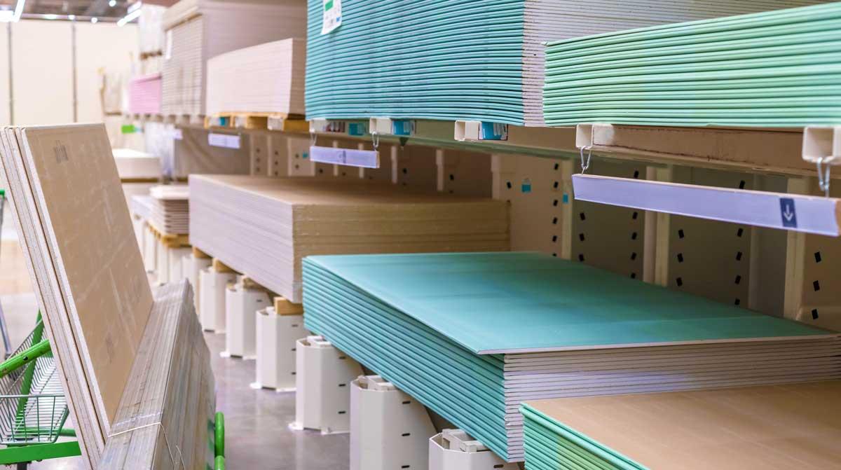 drywall materials shortage