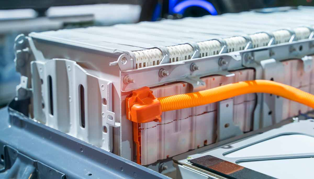Lithium battery pack for EV