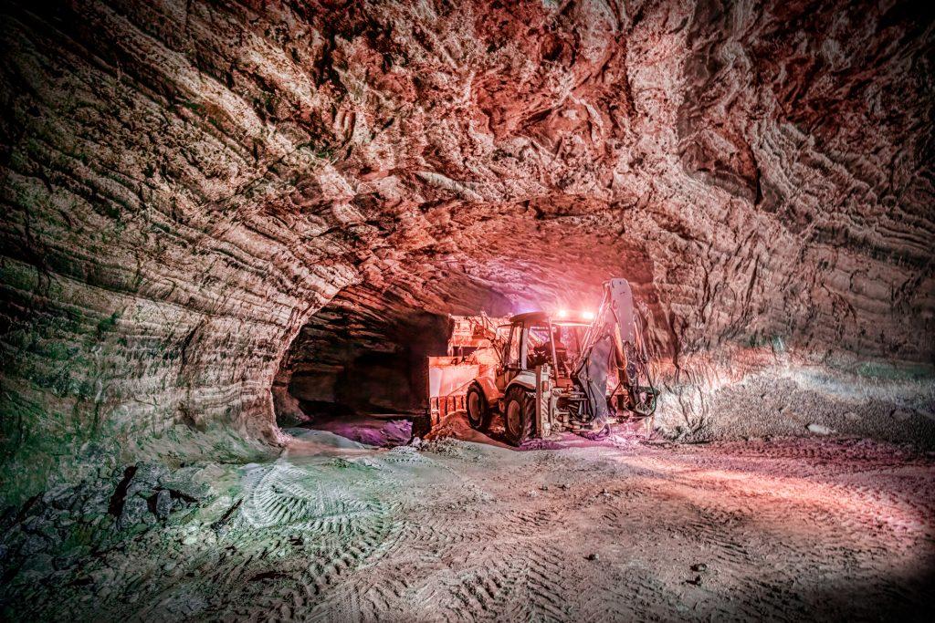 underground precious metals mining