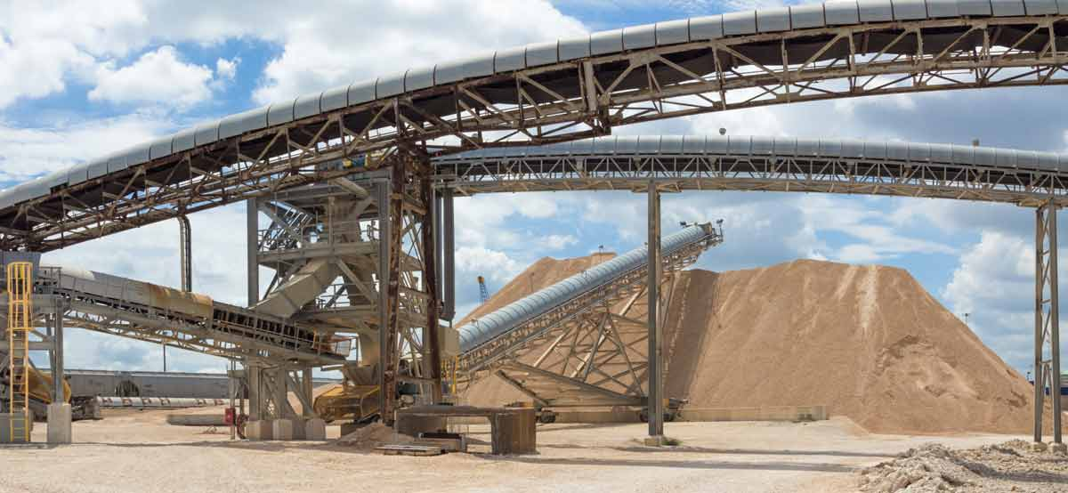 overland belt conveyors mining