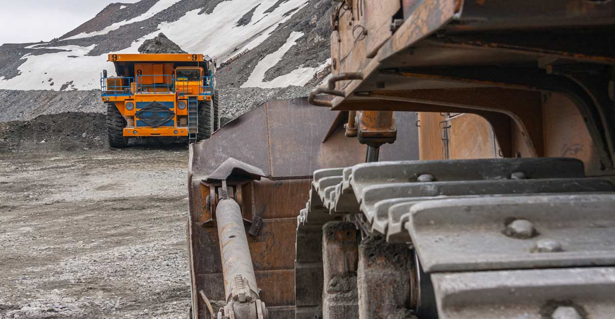 silver mining operations